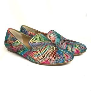 Steve Madden bedazzled flats